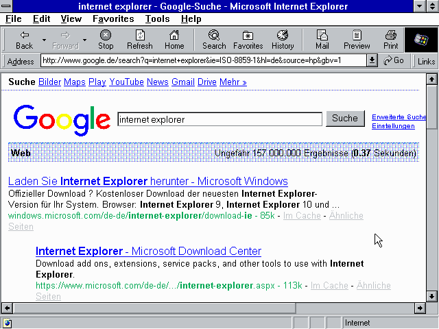 Internet Explorer 5.01
